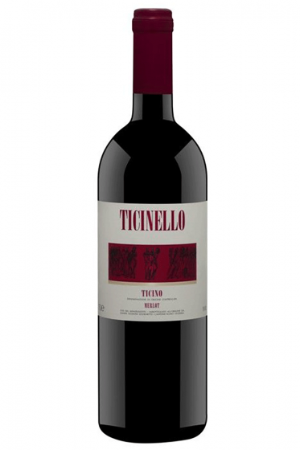 """""""Ticinello"""" Merlot del Ticino 2017 -75cl"""