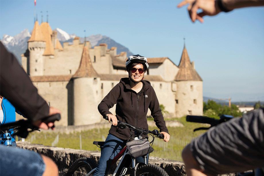 E-Bike-Tour durch die Weinberge
